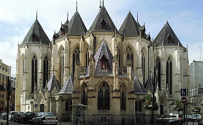 Церковь святого Маврикия (Eglise Saint-Maurice)