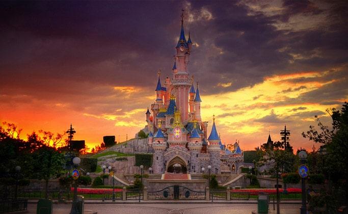 Замок Спящей Красавицы