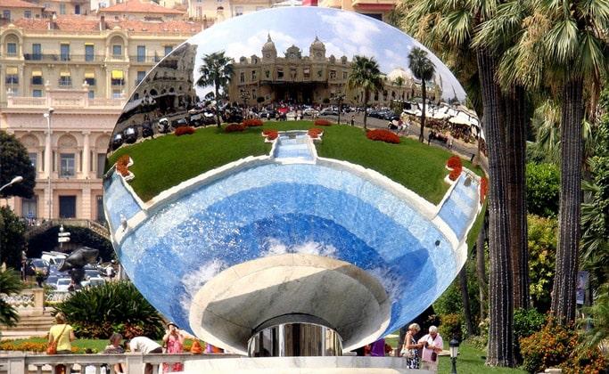 Зеркальный шар казино Монте-Карло