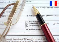 анкета на французском языке для сайта знакомств