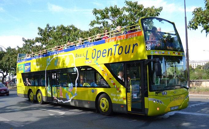 Экскурсионный автобус L'Open Tour