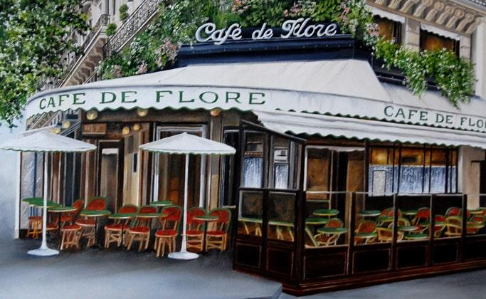 Кафе де флор в париже