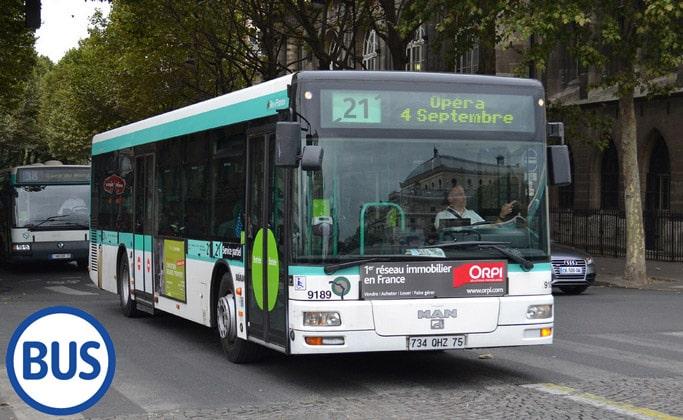 Муниципальные автобусы Парижа