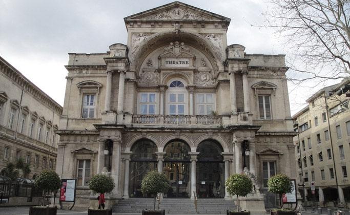 Оперный театр Авиньона (L'opera d'Avignon)