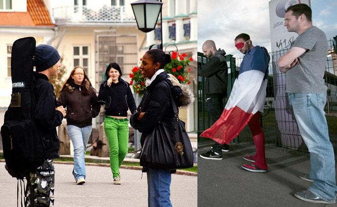 Отношение французских мужчин к иностранкам