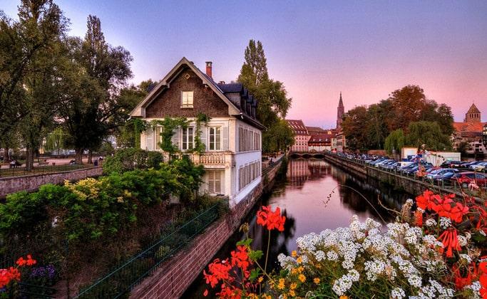 Пейзажи Страсбурга