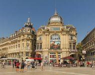 Площадь Комедии в Монпелье