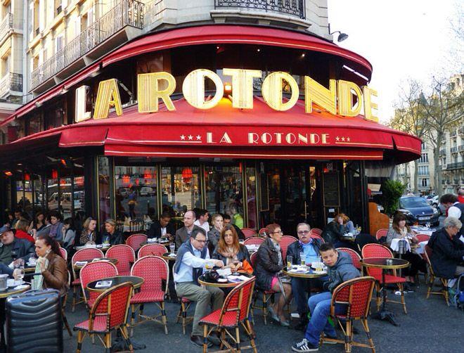 кафе в париже фото