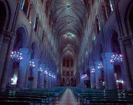 Внутренняя архитектура собора Парижской Богоматери