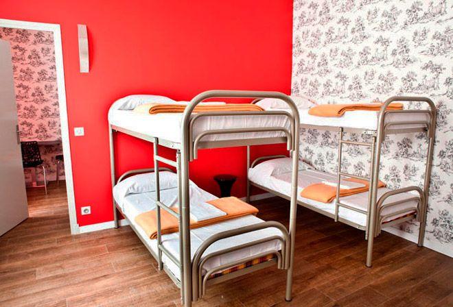 Общежитие хостела loft design в париже